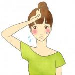 汗かきの女の人必見!治す方法と対策