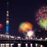 隅田川花火大会2016日程。屋形船と有料席、穴場スポットを紹介
